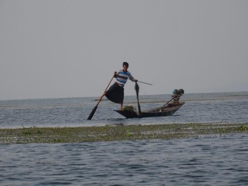 Inle fishing