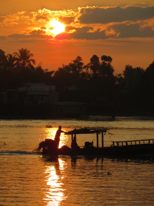 Mekong Delta at Sunrise