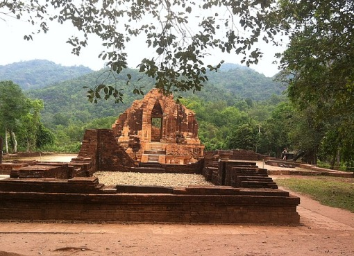 Cham ruins at My Son, Vietnam