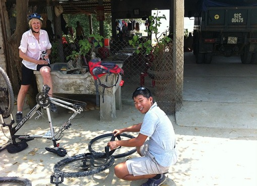 Bike ride Vietnam