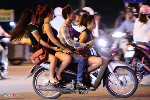 Cruising at night