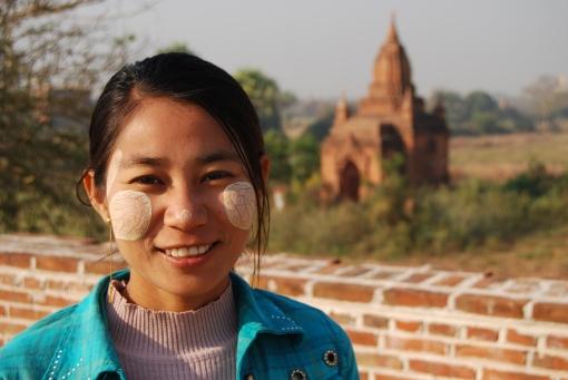 Burmese smile