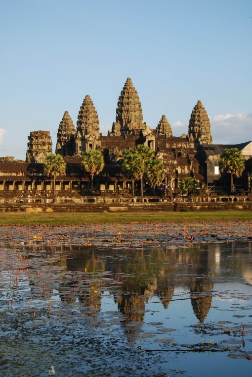 Angkor Wat reflected