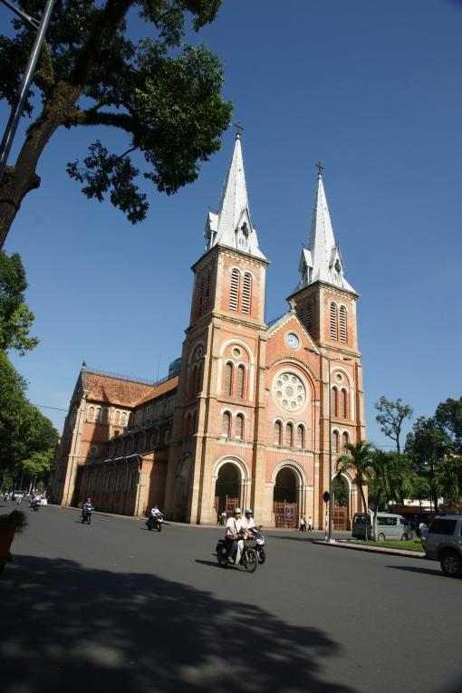 Saigon's colonial Notre Dame Basilica