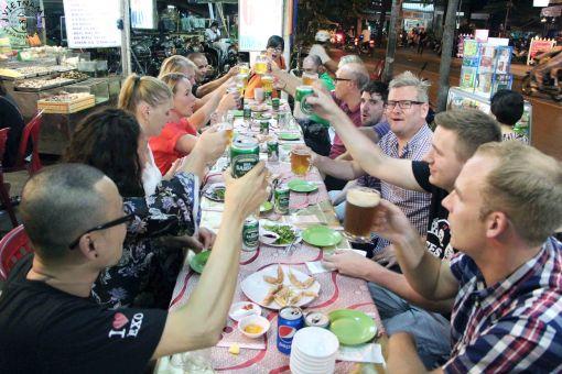 dinner in Vietnam