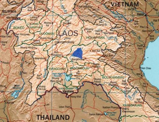 Plain of Jars Map