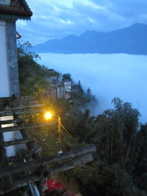 Above the clouds in Sapa