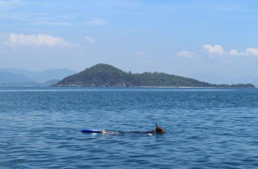 Snorkelling at Nha Trang