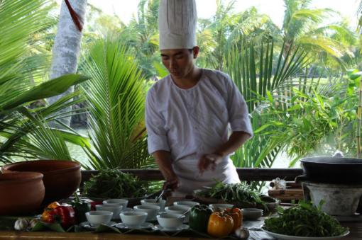 Enjoy a cooking class in the quiet countryside surrounding Hoi An
