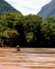 Boating on the river Indichina Encompassed