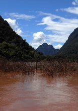 Rivers and mountains Indochina Encompassed