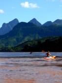 Kayaking in Laos Indochina Encompassed