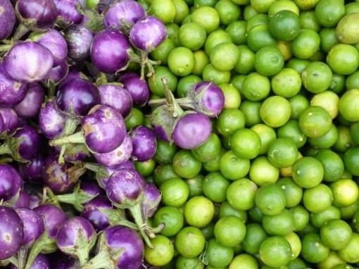 Fruit on sale in Laos
